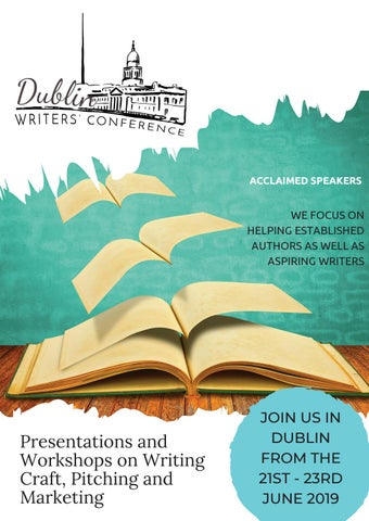 Dublin Writers' Conference Magazine by BooksGoSocial - issuu