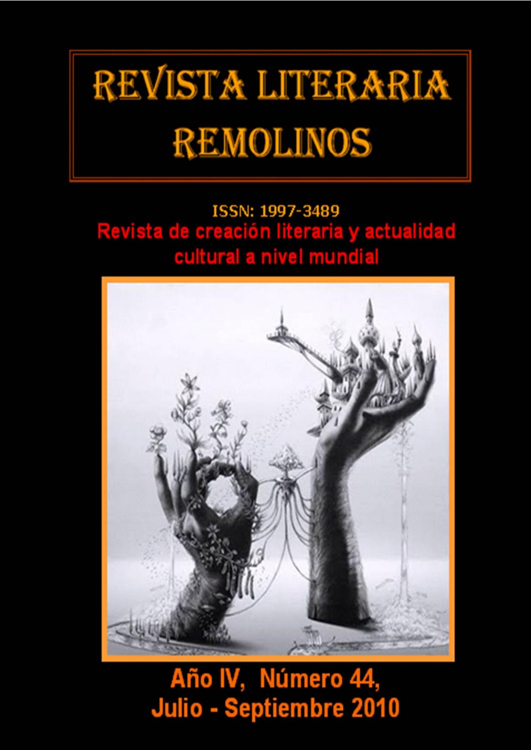 Revista Literaria Remolinos Nº 44 By Ephimaris Issuu