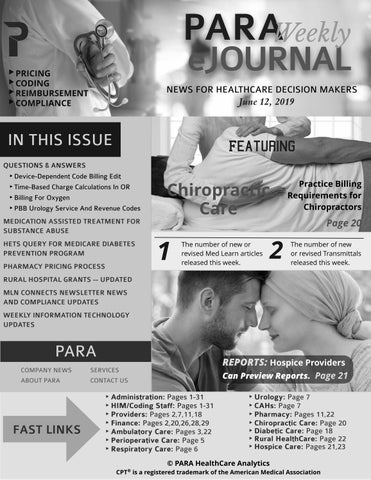 PARA Weekly eJournal Grayscale Version June 12, 2019 by PARA