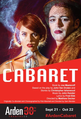 Cabaret Stagebill by Kristy Giballa - issuu