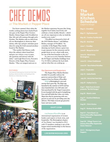 Page 10 of Chef Demos at The Market