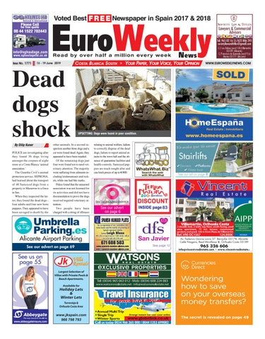 Euro Weekly News - Costa Blanca South 13 - 19 June 2019 Issue 1771