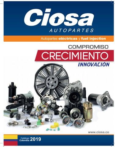 Ciosa Colombia 2019 by Ciosa Autopartes - issuu