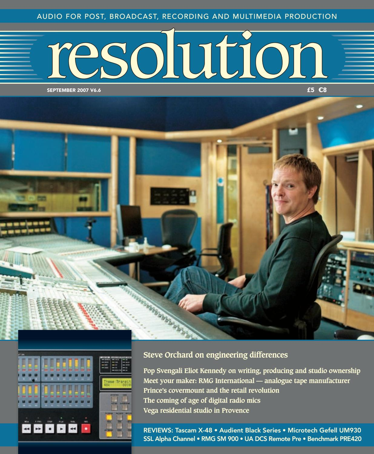 Resolution V6 6 Sep 2007 by Resolution - issuu