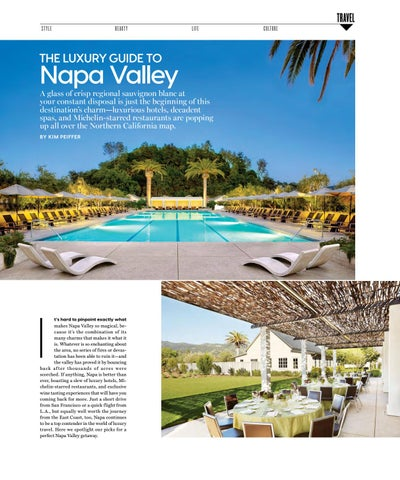 Page 91 of The Luxury Guide to Napa Valley