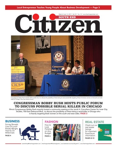 South End Citizen 6-12-2019 by CHICAGO CITIZEN NEWSPAPERS