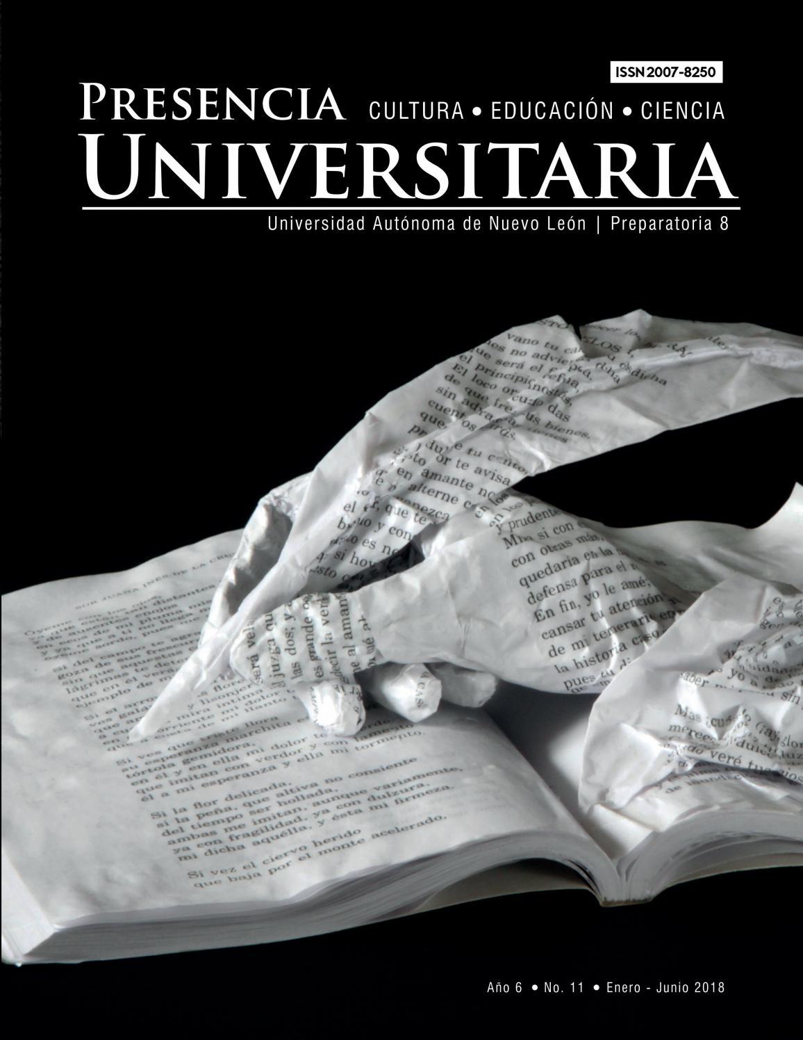 Año 6 No 11 By Preparatoria 8 Uanl Issuu