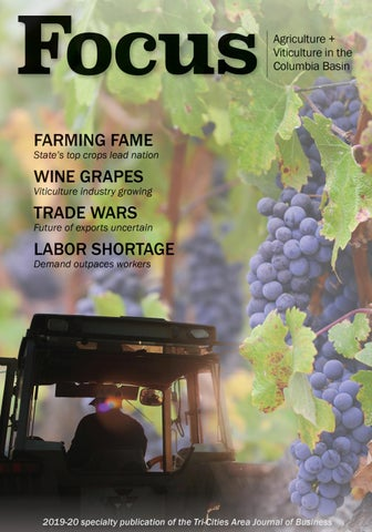 Focus Agriculture Viticulture In The Columbia Basin 2019 By Tri