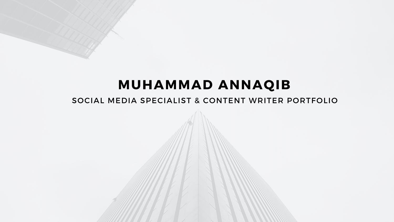 SOCIAL MEDIA SPECIALIST & CONTENT WRITER - PORTFOLIO by