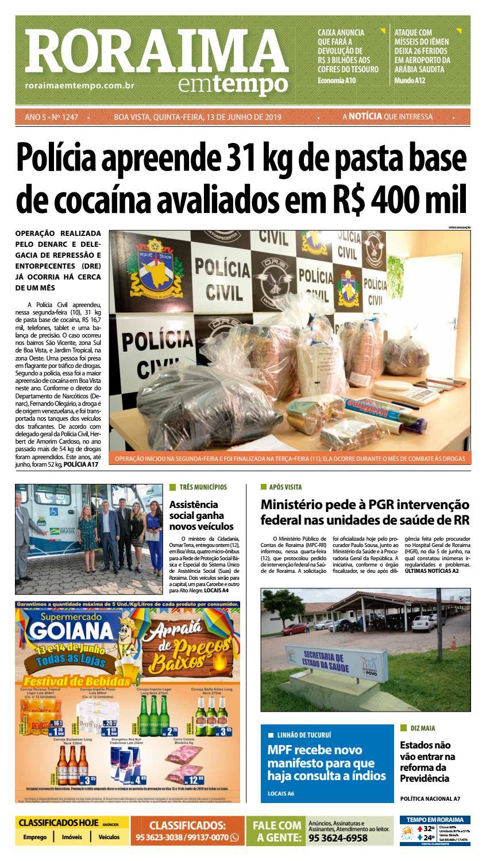 bfff75be64e2 Jornal Roraima em tempo – edição 1247 by RoraimaEmTempo - issuu