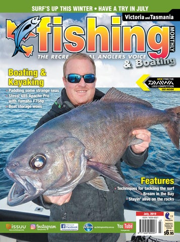 Victoria and Tasmania Fishing Monthly July 2019 by Fishing Monthly