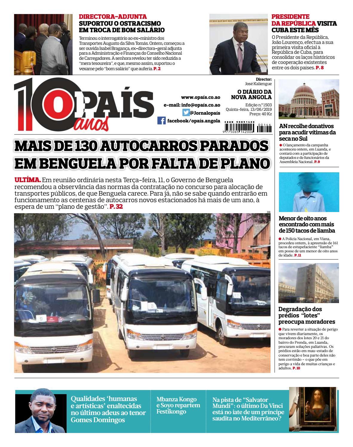 778876ae8379 Jornal OPaís edição nº1503 de 13/06/2019 by OPAÍS - issuu