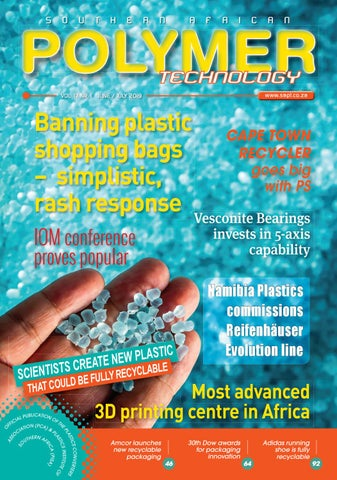 SOUTHERN AFRICAN POLYMER TECHNOLOGY by SA Plastics