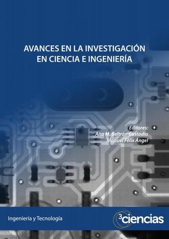 0aa9338541b Avances en la investigación en ciencia e ingeniería by Editorial ...