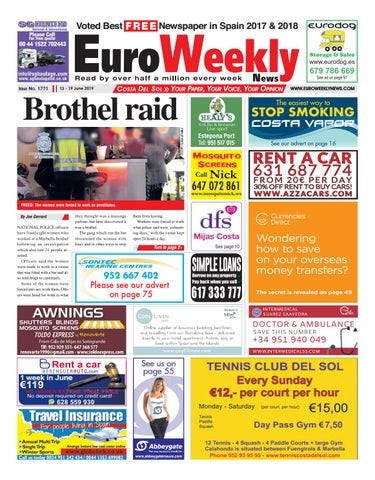 Euro Weekly News - Costa del Sol 13 - 19 June 2019 Issue 1771 by