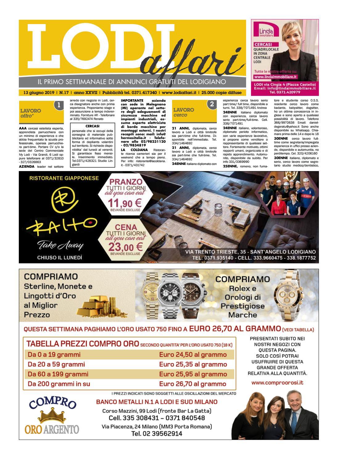Arredamento Buongiorno Lodi lodi affari 13 giugno by lodi affari - issuu