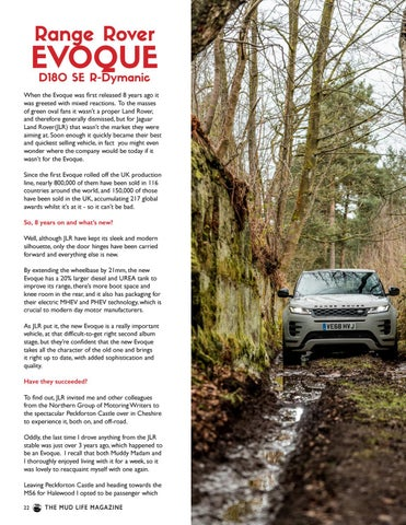 Page 22 of Range Rover Evoque Review