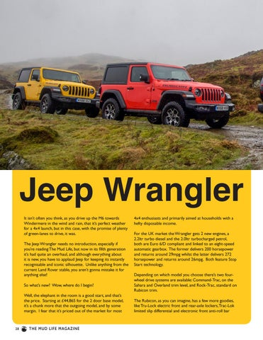 Page 28 of The new Jeep Wrangler Rubicon reviewed