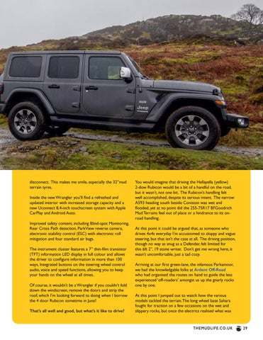Page 29 of The new Jeep Wrangler Rubicon reviewed
