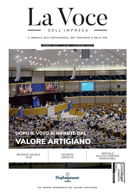 La Voce Dell Impresa Giugno 2019 By Confartigianato Cuneo Issuu