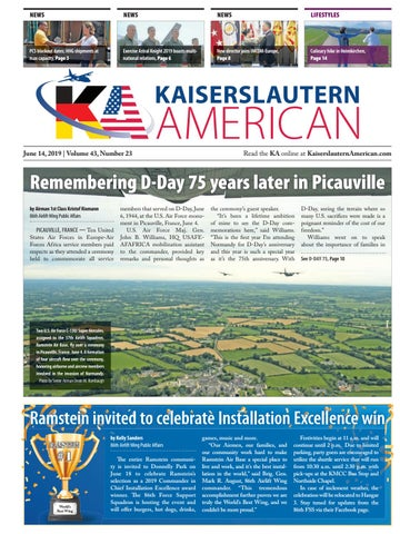 Kaiserslautern American — June 14, 2019 by AdvantiPro GmbH