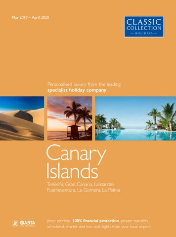 Classic Collection Holidays Canary Islands 2019/20 by Travel ...