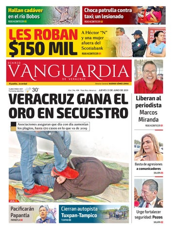 4545d50cad Diario Vanguardia Digital 13 de Junio 2019 by Vanguardia Veracruz ...