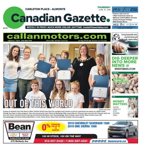 Almonte Carleton Place Canadian Gazette June 13, 2019 by
