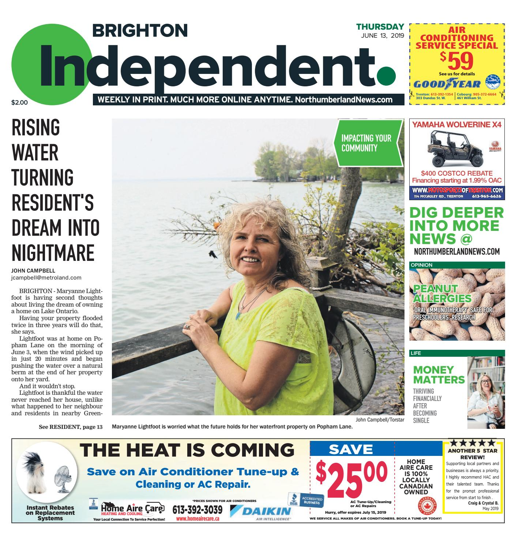 Brighton Independent June 13, 2019 by Metroland East - Brighton
