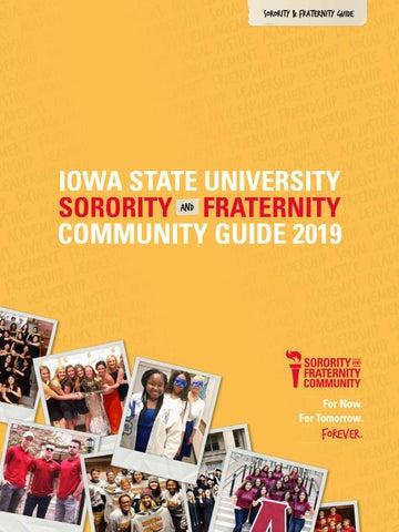 Sorority and Fraternity Community Magazine 2019 by Iowa