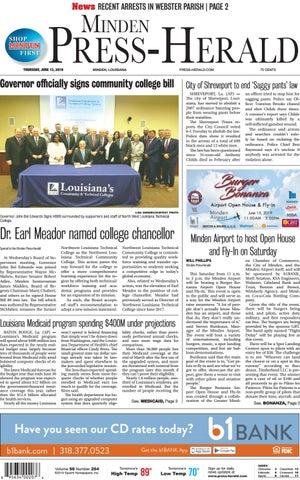Minden Press-Herald e-edition 06-13-2019 by Minden Press