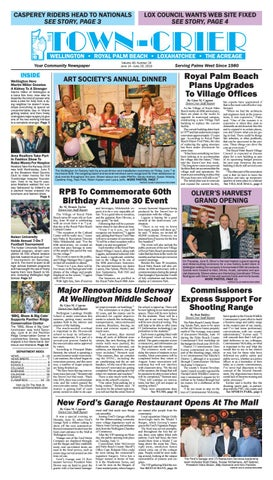 Town-Crier Newspaper June 14, 2019 by Wellington The