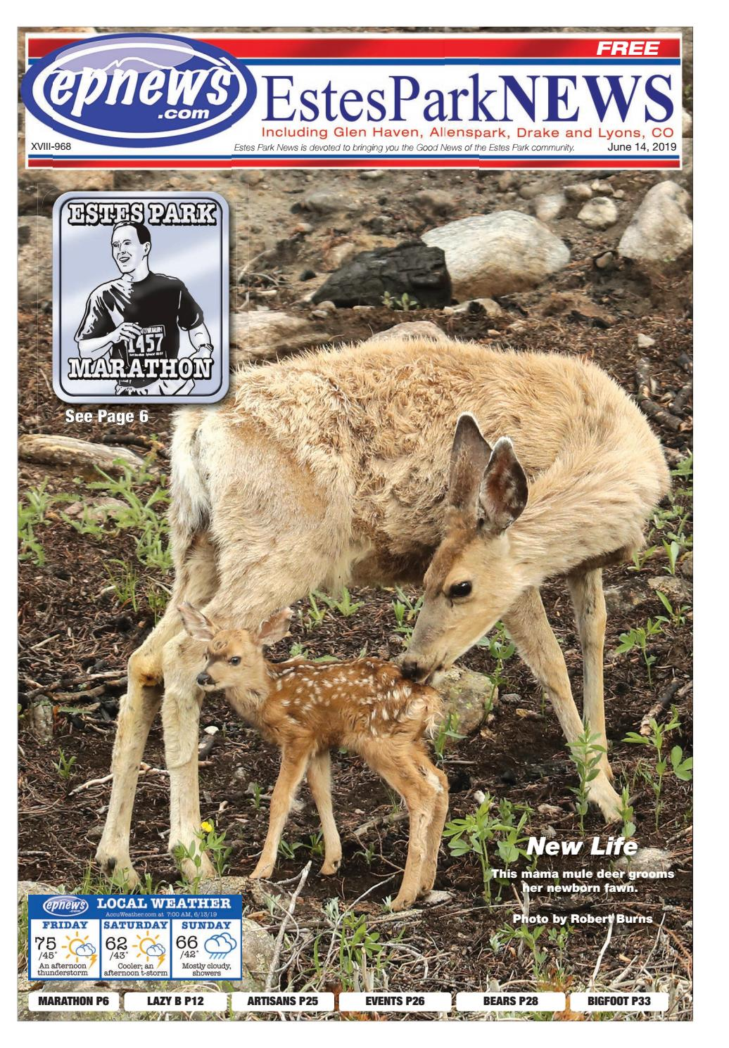 Estes Park News, June 14, 2019 by Estes Park News, Inc - issuu