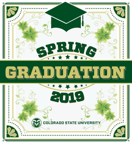 cd0f8849bf207 Collegian Graduation Edition Spring 2019 by Rocky Mountain Collegian ...