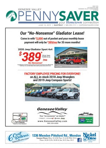 Eastway Edition - Genesee Valley Penny Saver 6-14-2019 by