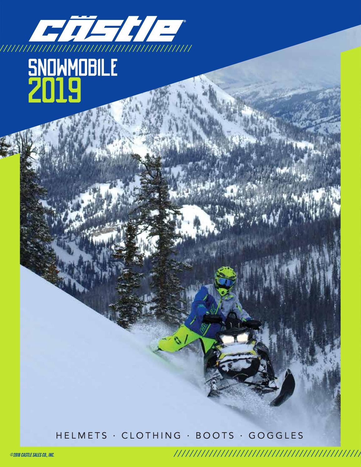 Castle X Platform Mens Snowmobile Bibs Black SML