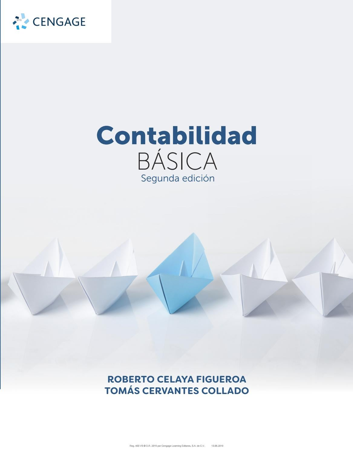 Contabilidad Básica By Cengage Learning Editores Issuu