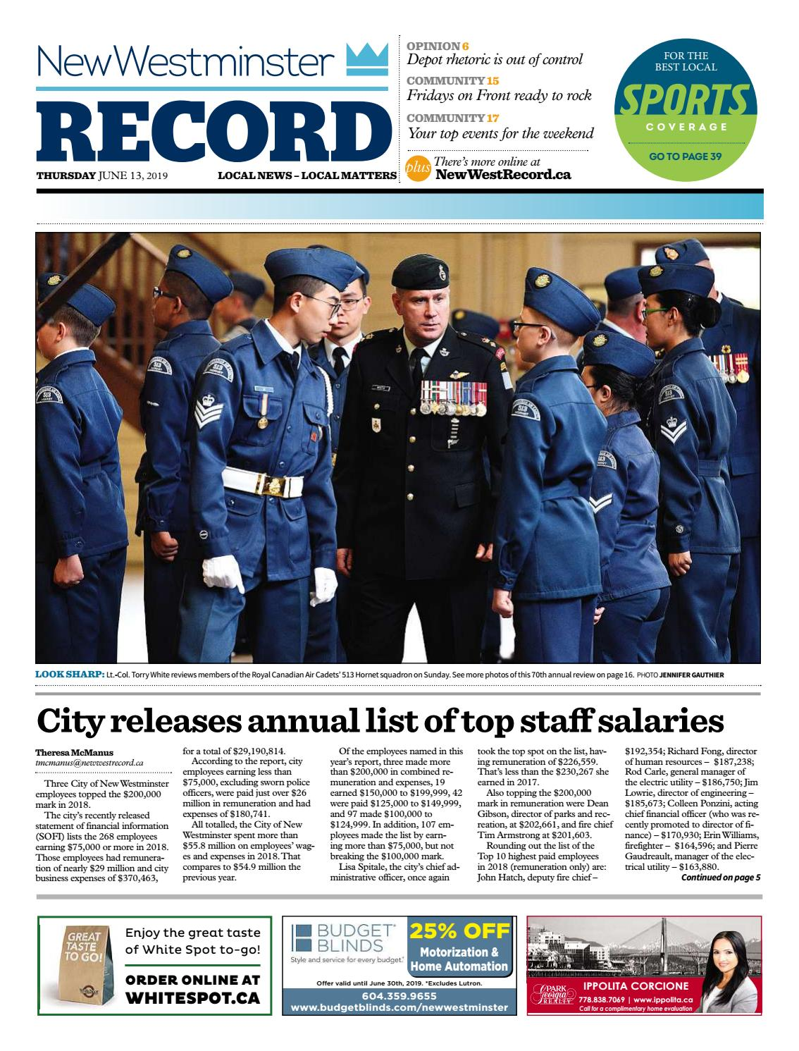New Westminster Record June 13 2019 by Royal-City-Record - issuu