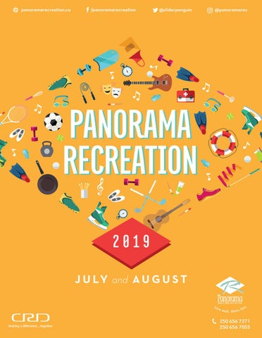 Panorama Recreation Summer Brochure By Panorama Recreation