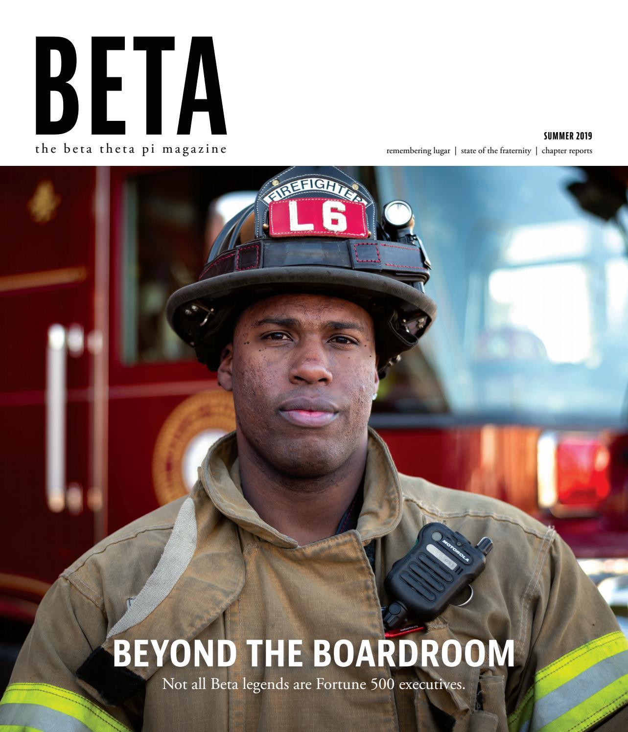 The Beta Theta Pi - Summer 2019 by Beta Theta Pi - issuu