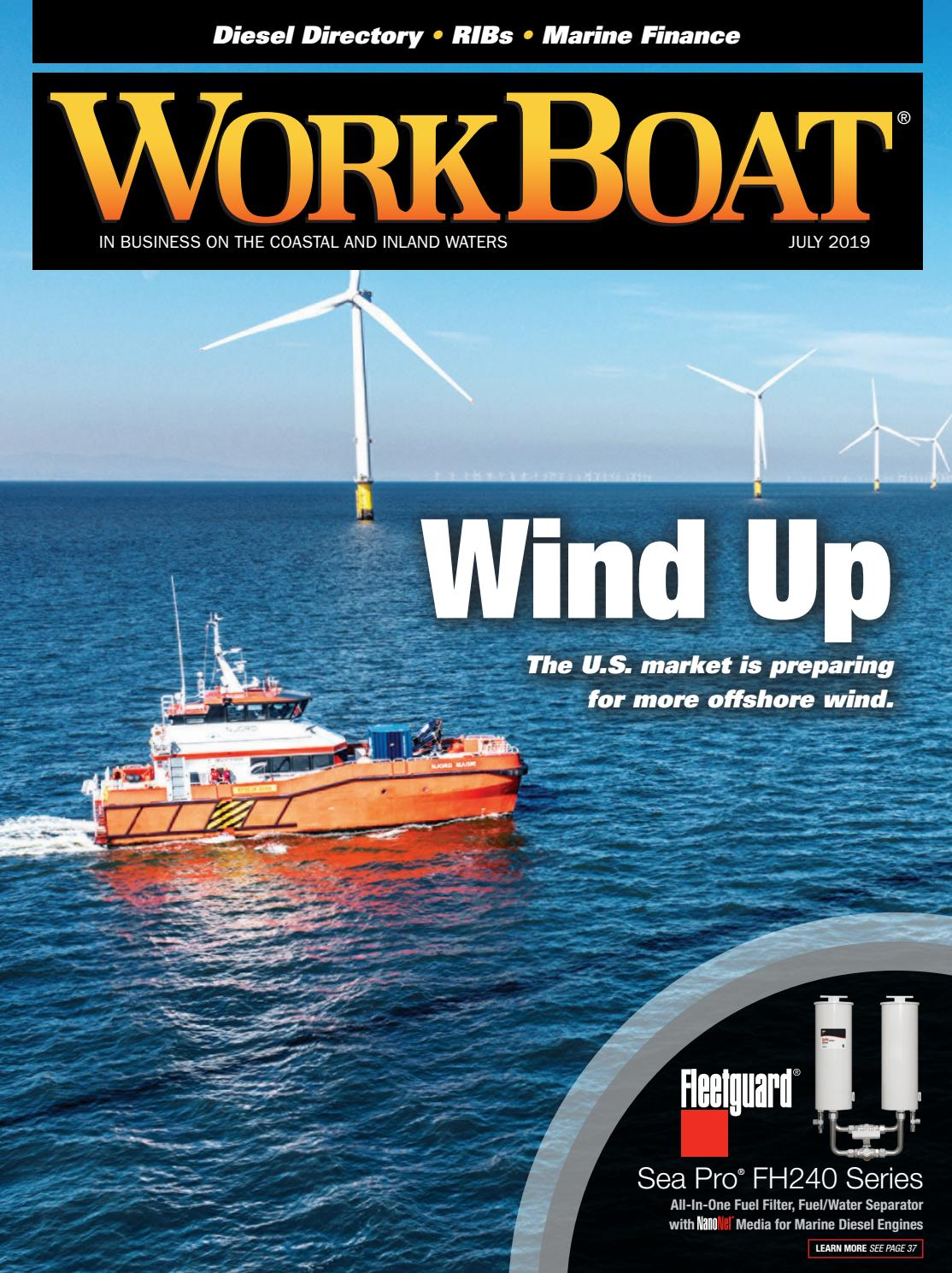 WorkBoat July 2019 by WorkBoat - issuu