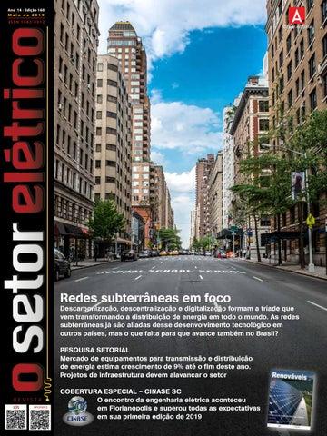 f1f34e44d O Setor Elétrico (edição 160 - Mai/2019) by Revista O Setor Elétrico ...
