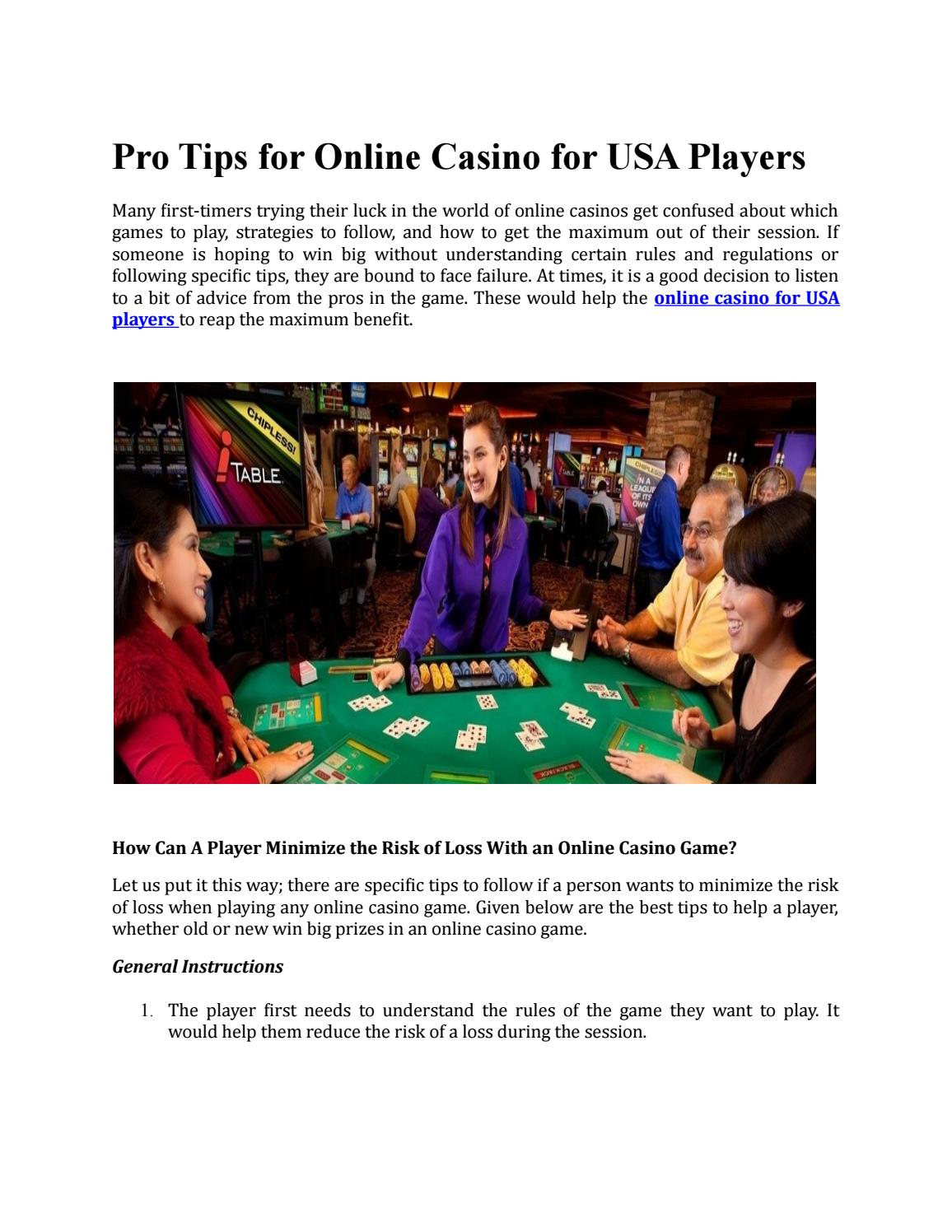 Casino online for us players