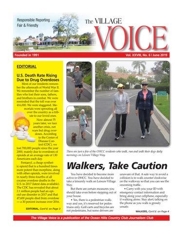 06-2019 June Village Voice Newsletter by Village Voice Newsletter