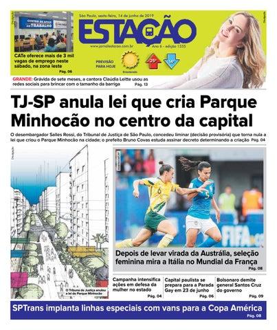 7ad3efce8 Jornal Estação de 14/06/2019 - Ed. 1335 by Jornal Estação - issuu