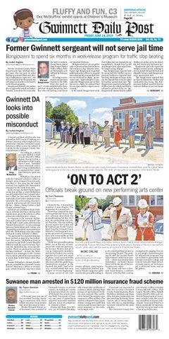 June 14, 2019 — Gwinnett Daily Post by Gwinnett Daily Post