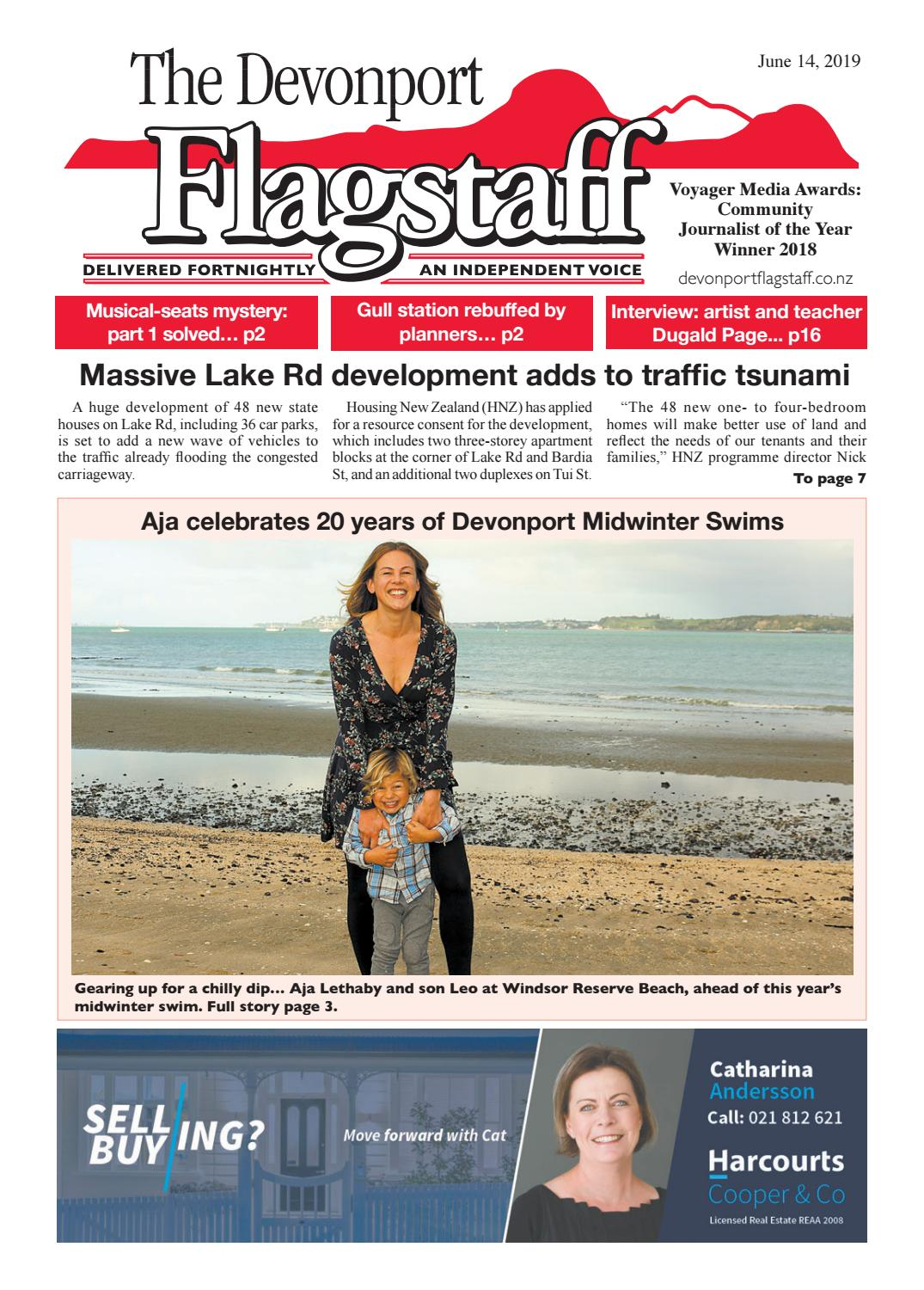 14 June 2019 Devonport Flagstaff by Devonport Flagstaff - issuu