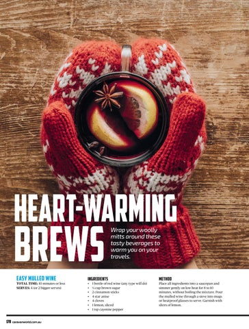 Page 39 of HEART WARMING BREWS: Easy Mulled Wine