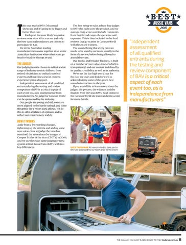 Page 7 of 7th ANNUAL SHOWCASE FOR BEST AUSSIE VANS (BAV)