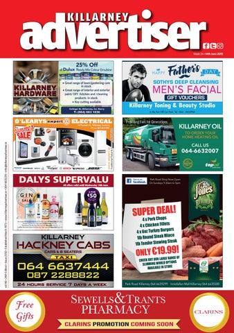 8411f17d7fa Killarney Advertiser 28th June 2019 by Killarney Advertiser - issuu